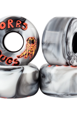 Welcome Skateboards Orbs Pugs Black/White Swirl 54mm