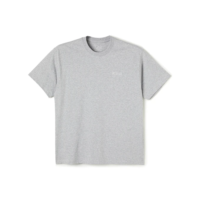 Polar Skate Co. Scrpit Tee Grey