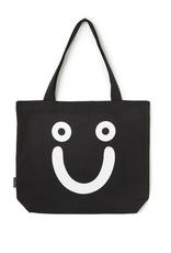 Polar Skate Co. Happy Sad Tote Bag Black/White