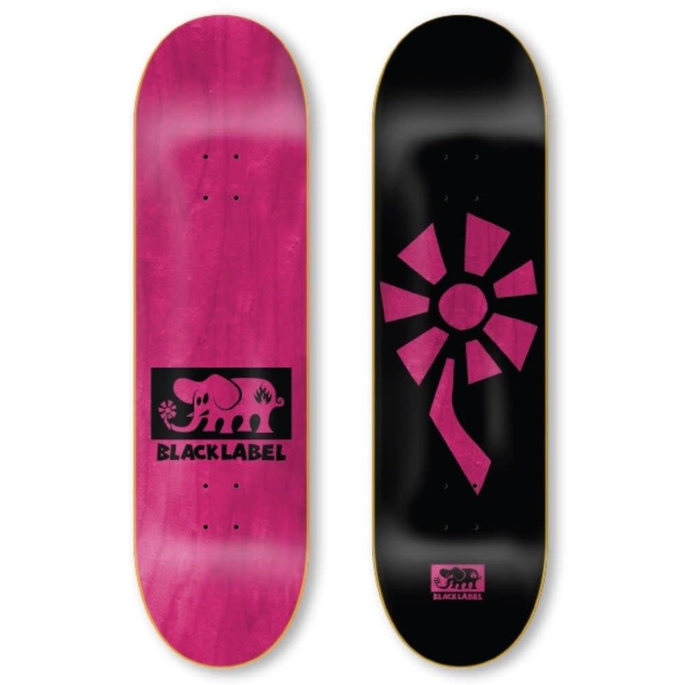 Black Label Flower Power 8.25 Black/Pink
