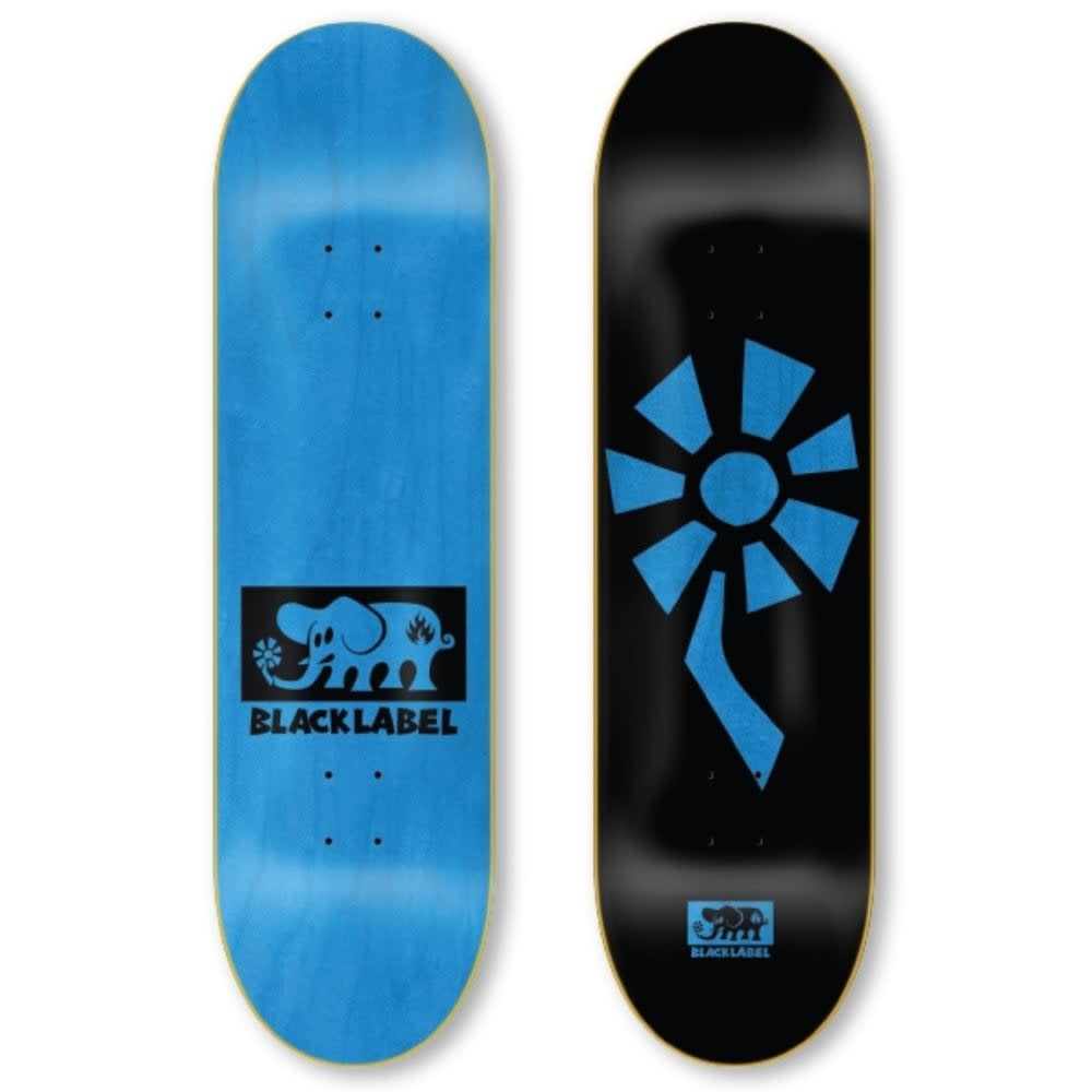 Black Label Flower Power 8.5 Black/Blue