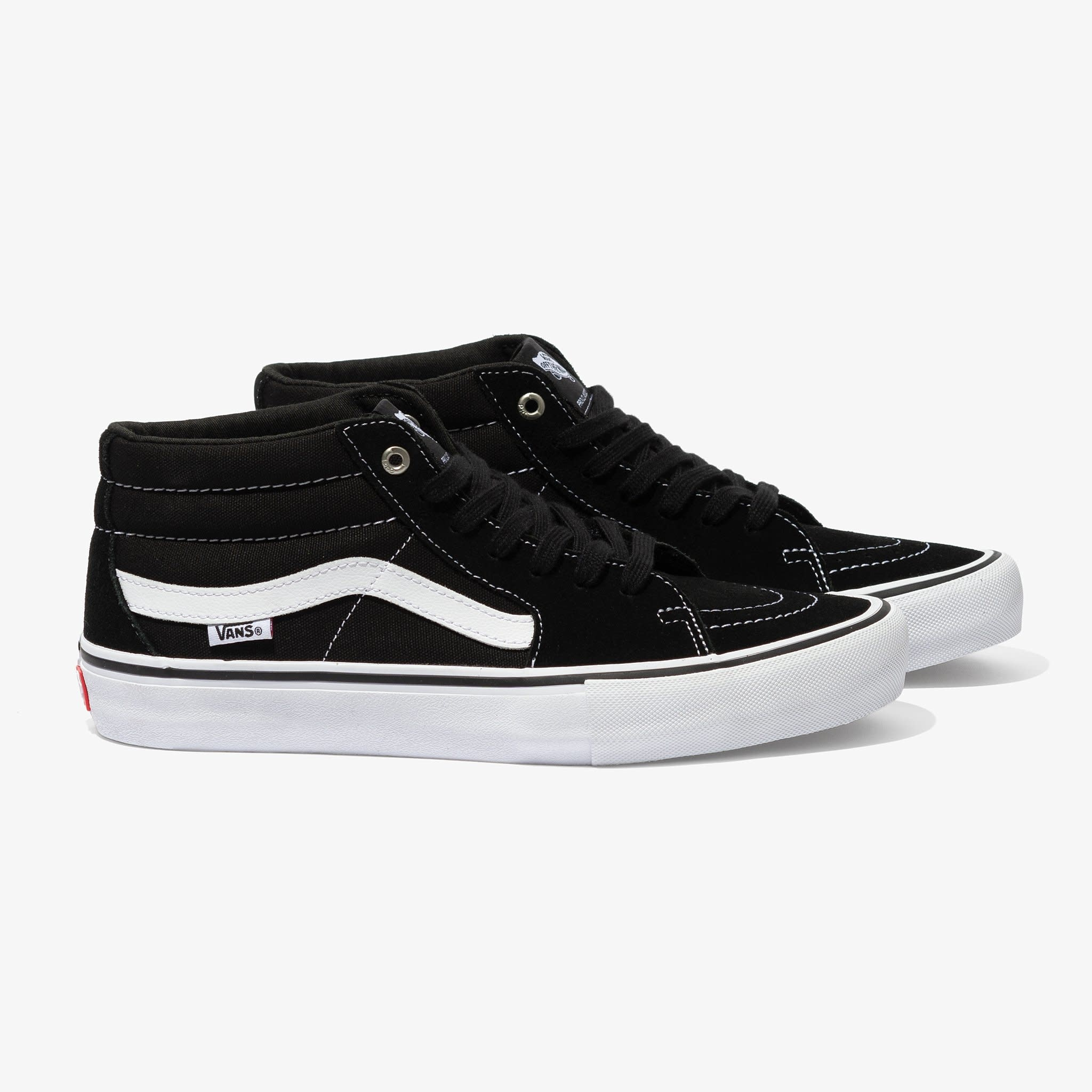 Vans Shoes Sk8 Mid Pro Black/White