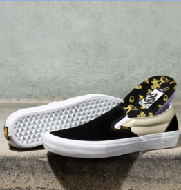 Vans Shoes Slip On Pro x Shake Junt Black/Gold