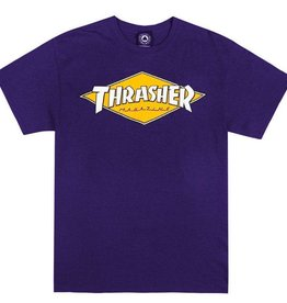 Thrasher Mag. Thrasher Diamond Logo Purple