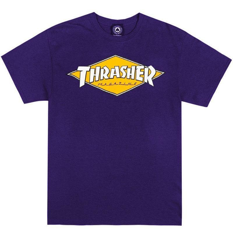 Thrasher Mag. Thrasher Diamond Logo Purple