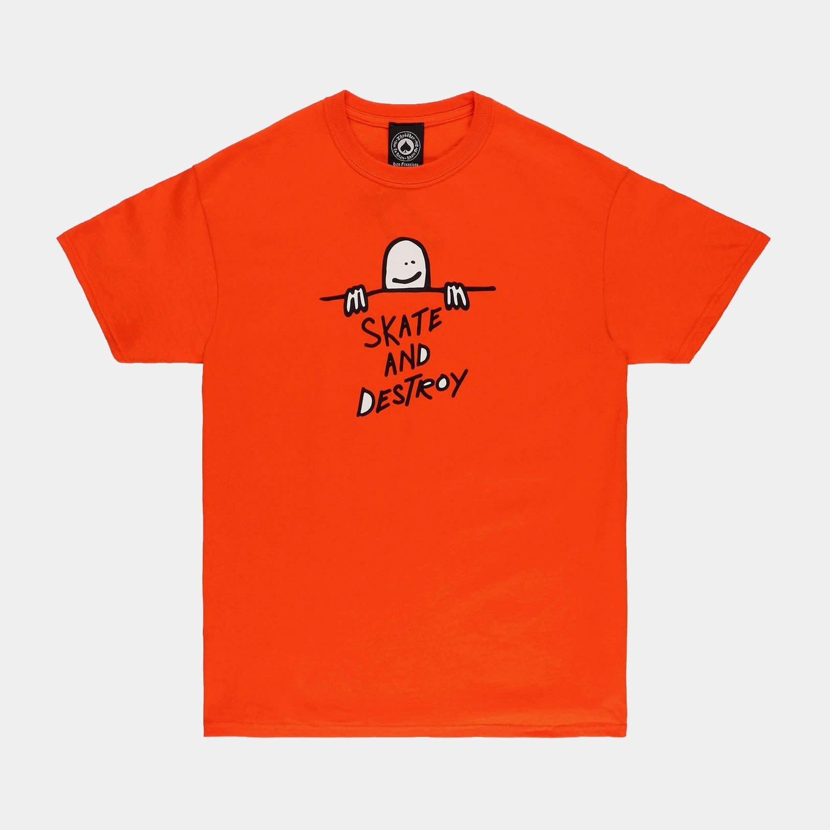 Thrasher Mag. Gonz SAD Logo Orange