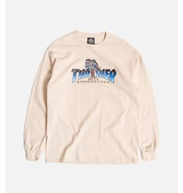 Thrasher Mag. Leopard Mag L/S Sand