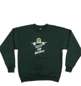 Thrasher Mag. Gonz SAD Logo Crew Forest