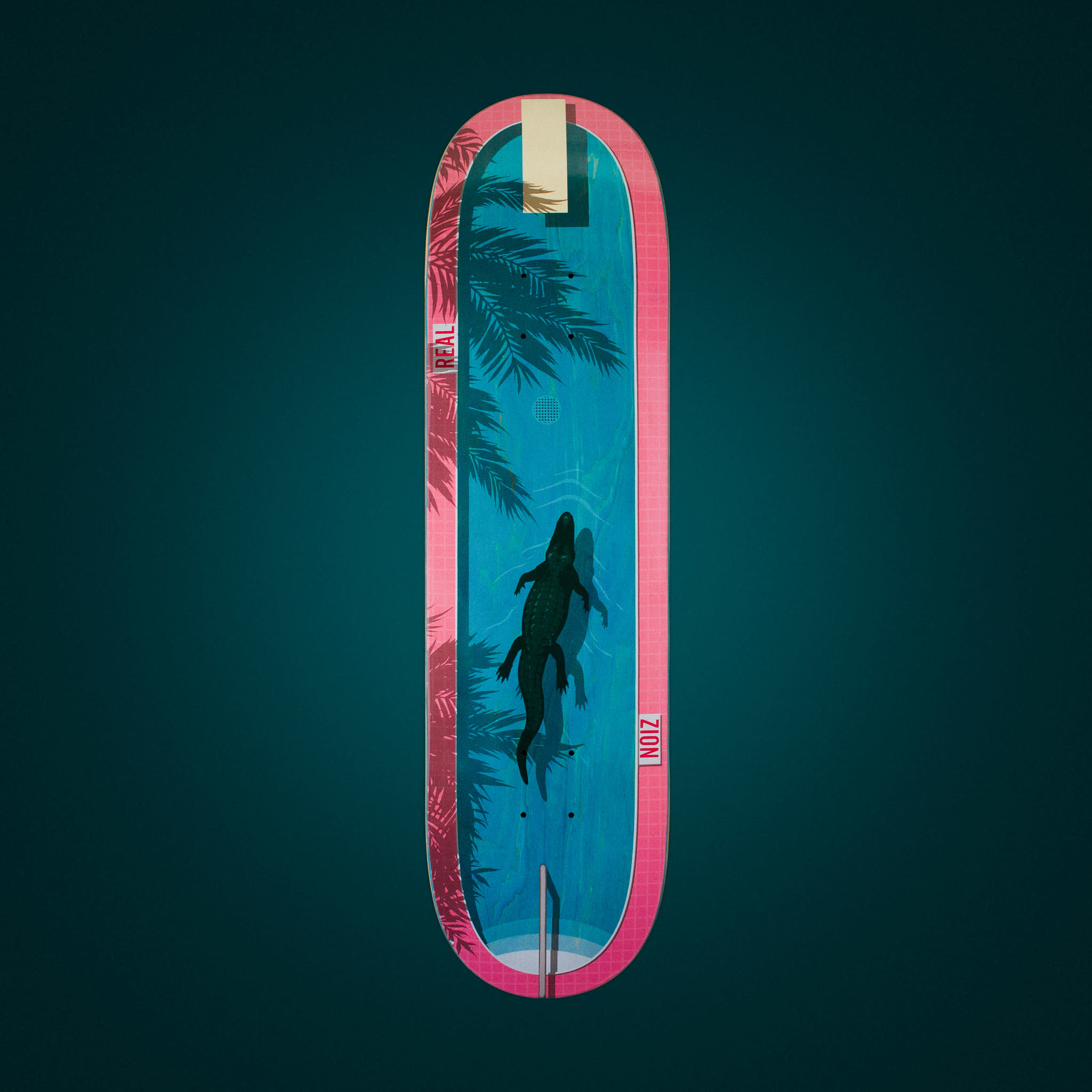 Real Skateboards Zion Dive In 8.5