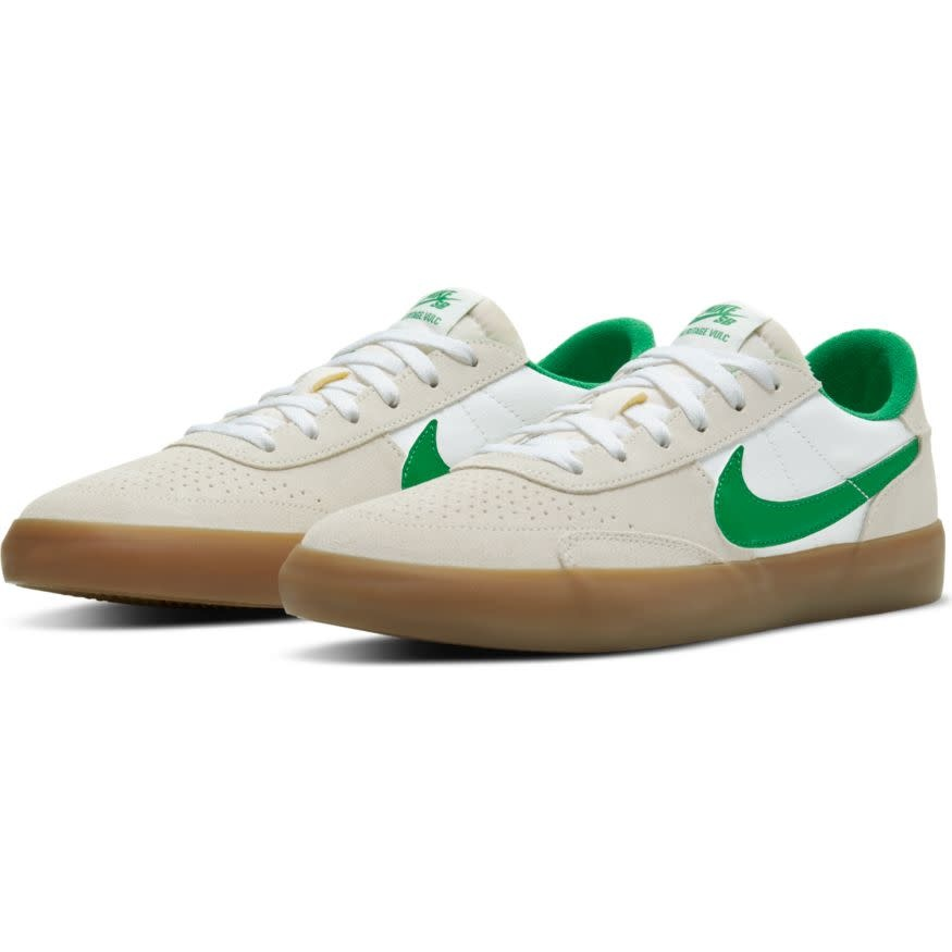 Nike USA, Inc. Nike SB Heritage Vulc Summit White/Lucky Green