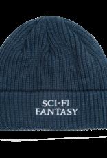 Sci-Fi Fantasy Sci-Fi Fantasy Logo Beanie Dark Teal
