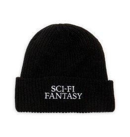Sci-Fi Fantasy Sci-Fi Fantasy Logo Beanie Black