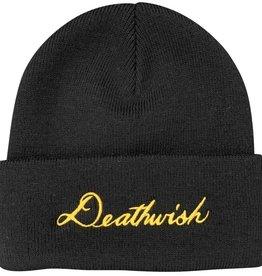 Deathwish Skateboards Script Black Beanie