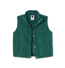 Polar Skate Co. Puffer Vest Dark Green Large