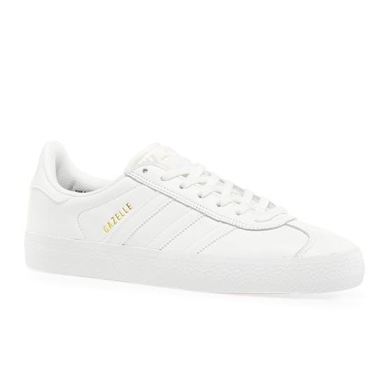 Adidas Gazelle ADV White/White Leather