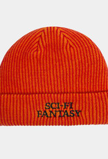 Sci-Fi Fantasy Sci-Fi Fantasy Logo Beanie Orange/Red Stripe
