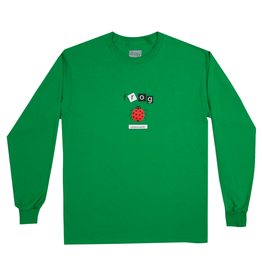 Frog Skateboards Lady Bug Kelly Green L/S Tee