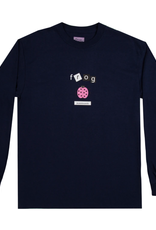 Frog Skateboards Lady Bug Navy L/S Tee