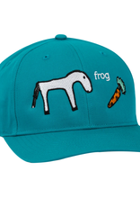 Frog Skateboards Horse Turquoise 5 Panel