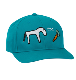 Frog Skateboards Horse Turquoise 5 Panel