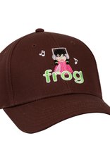 Frog Skateboards I'm Not Listening Brown 6 Panel