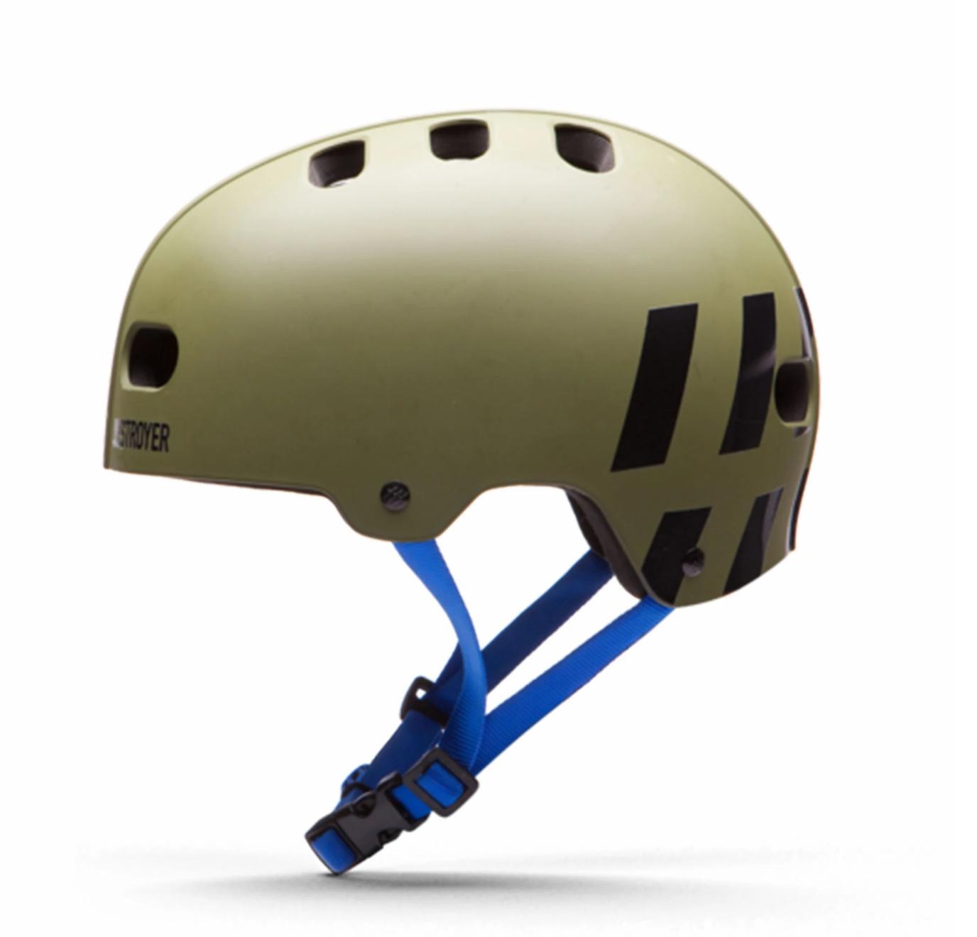 Destroyer Certified Helmet EPS Olive/Royal S/M