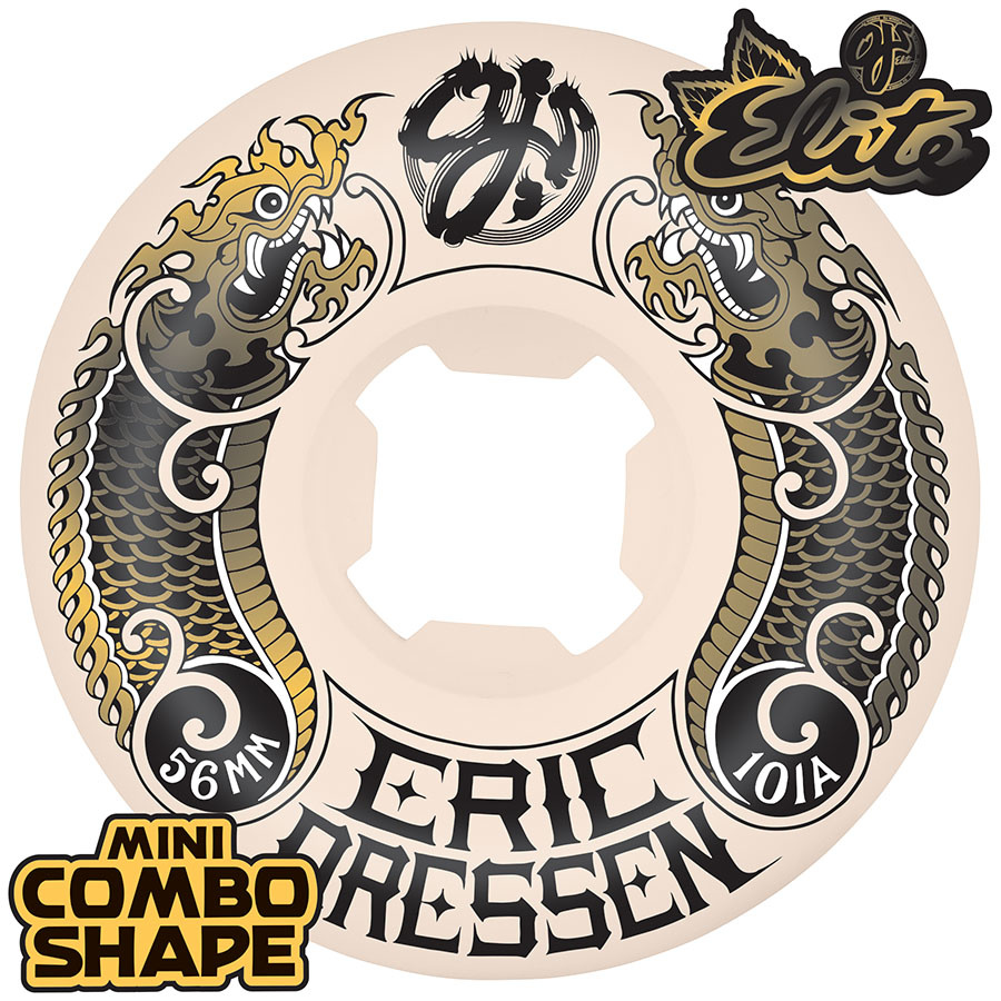 OJ Wheels Dressen Dragon Elite Mini Combo 101a 56mm