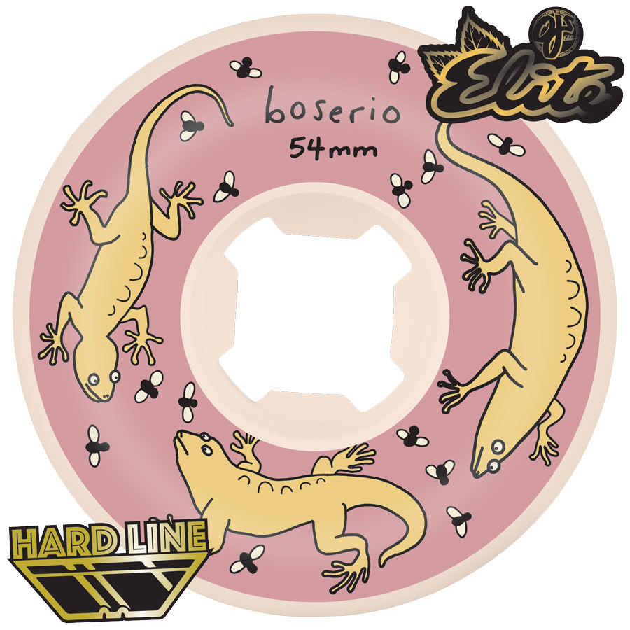 OJ Wheels Boserio Lizard Elite Hardline 101a 54mm