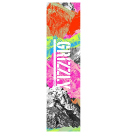 Grizzly Griptape Neon Range Stamp Griptape
