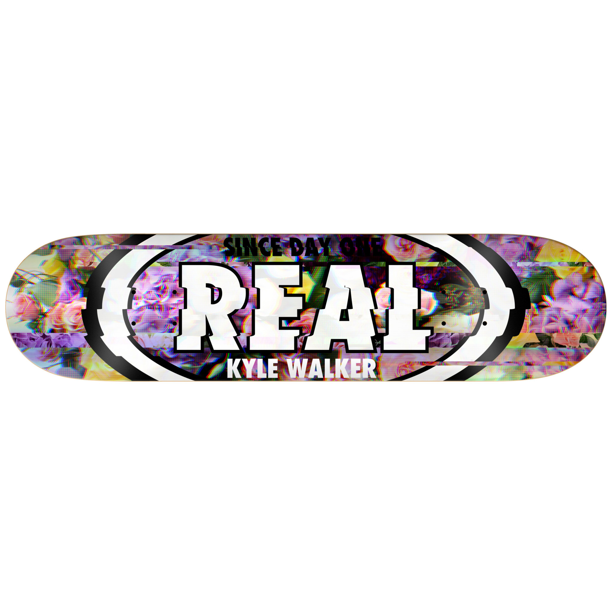Real Skateboards Kyle Glitch Oval 8.06""