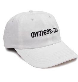 CallMe917 917 Dialtone Hat White