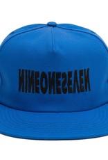 Call Me 917 Cyber Logo Hat Royal