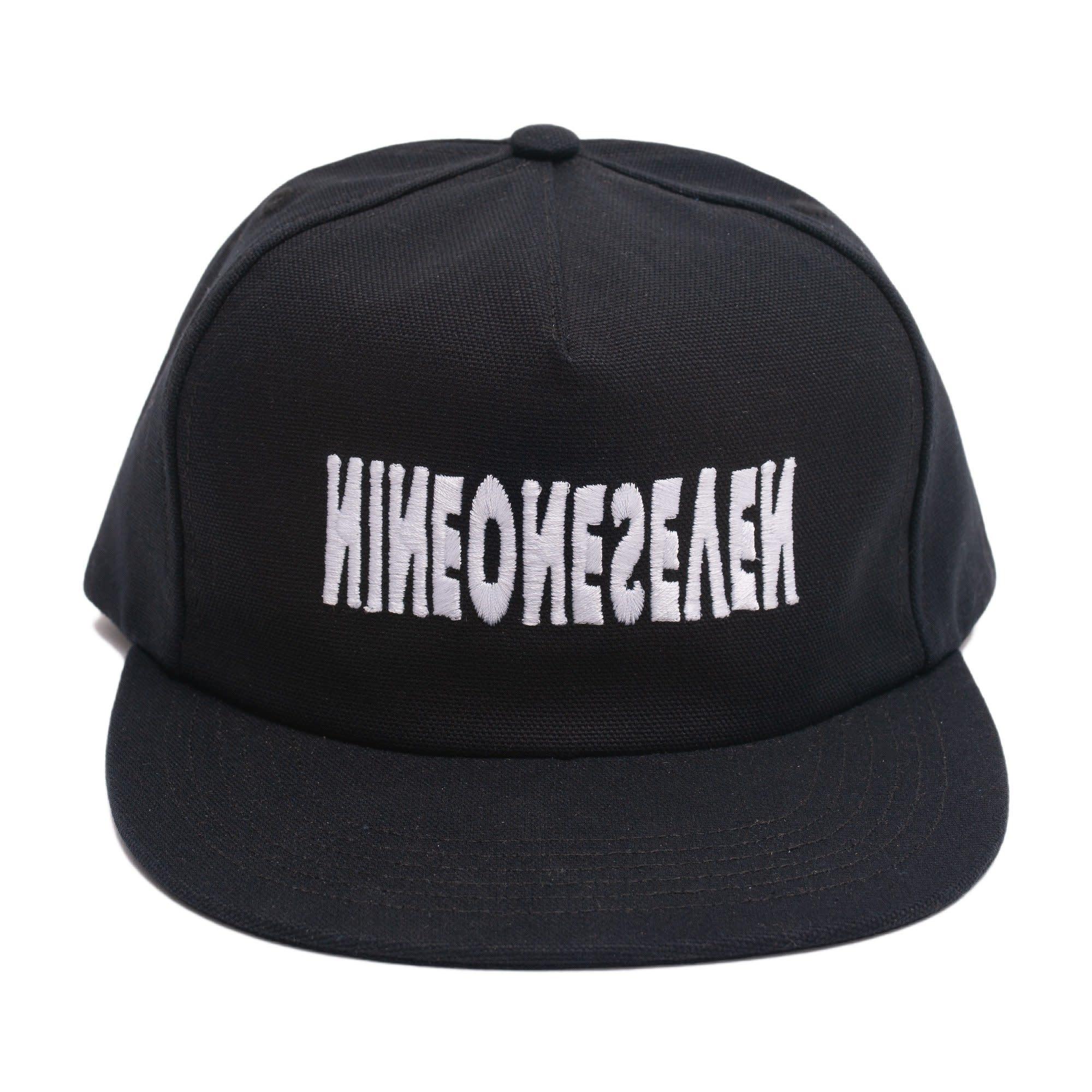 Call Me 917 Cyber Logo Hat Black