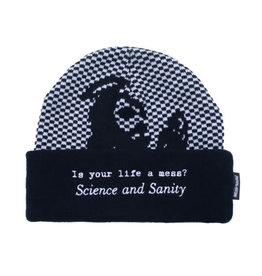 Fucking Awesome Science And Sanity Beanie Black