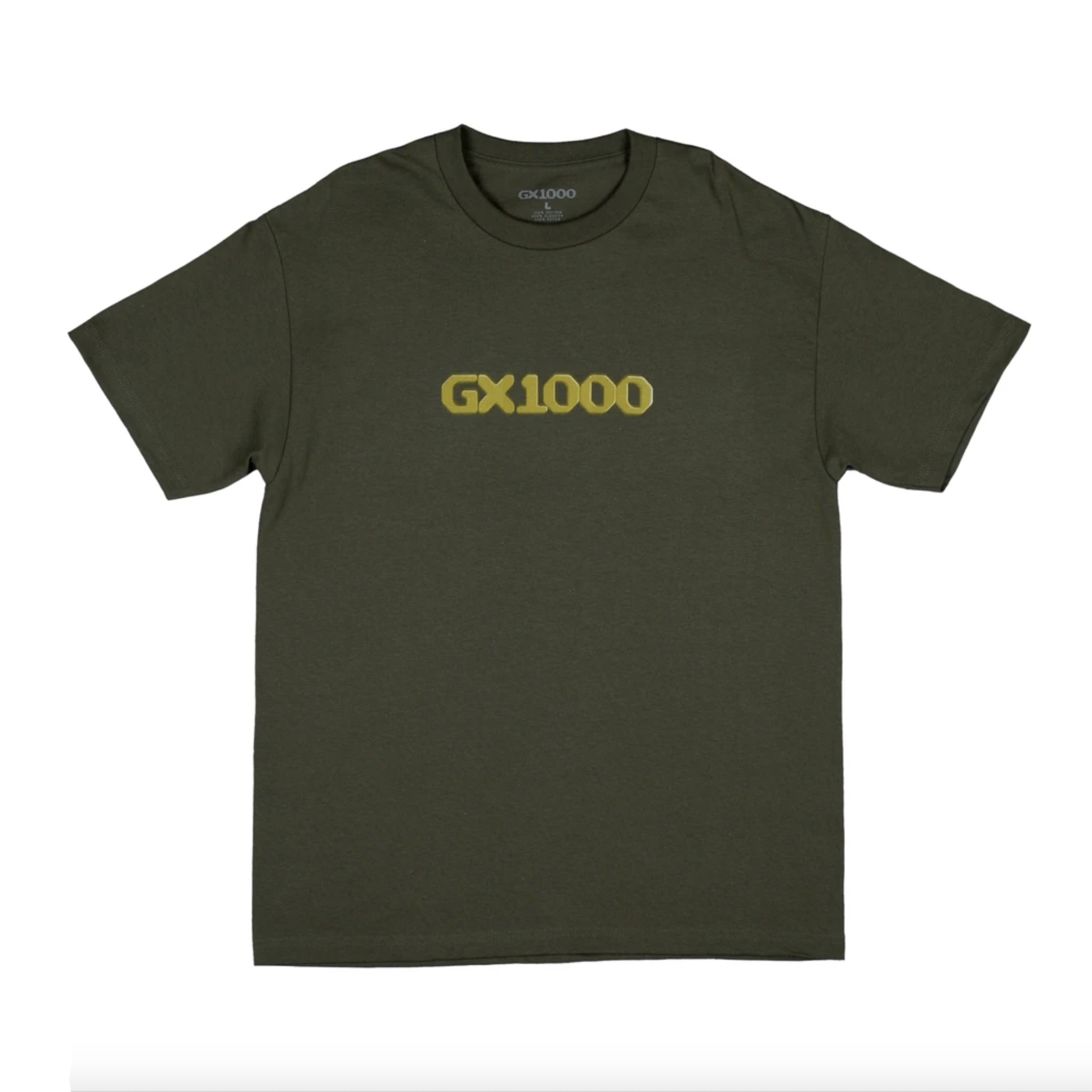 GX1000 Dithered Logo Military Green