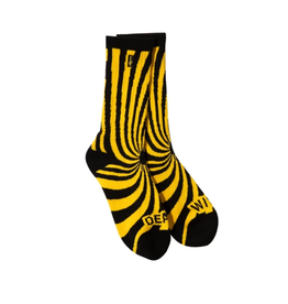 Deathwish Skateboards Discordia Yellow Sock