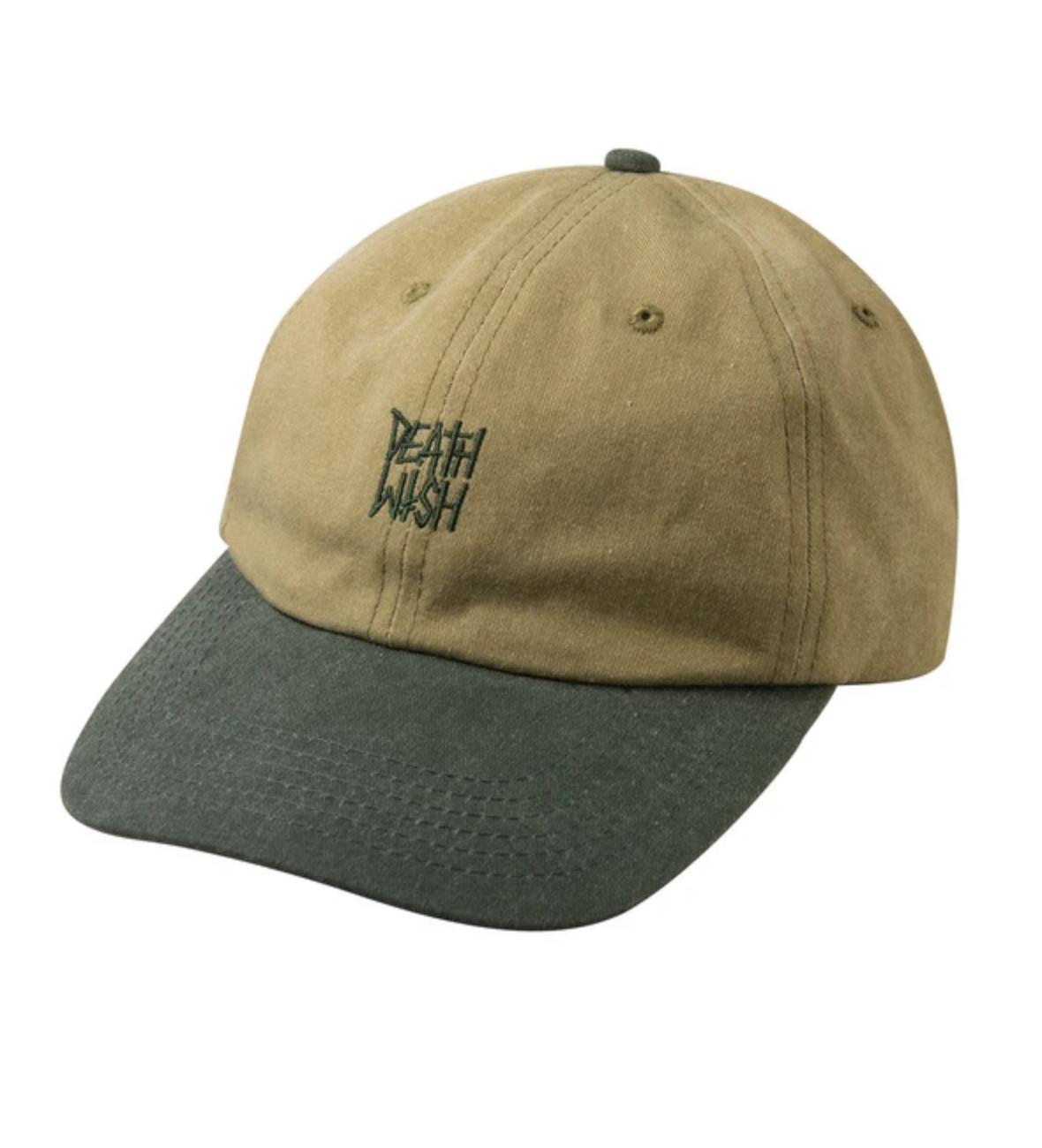 Deathwish Skateboards Deathstack Khaki/Green Dad Cap