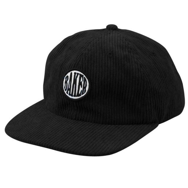 Baker Skateboards Nautical Black Corduroy Snapback