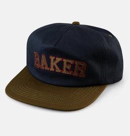 Baker Skateboards Oscar Navy/Green Snapback