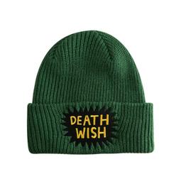 Deathwish Skateboards Quarantine Green Beanie