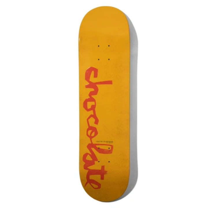 "Chocolate Skateboards Eldridge OG Chunk 8.25"" Yellow/Orange"