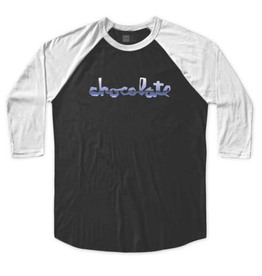 Chocolate Skateboards Chocolate Lightning Black/White Raglan
