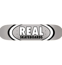 Real Skateboards Classic Oval Silver 7.75