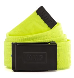 HUF Otis Scout Belt Safety Yellow