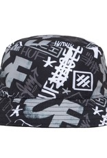 HUF Haze Bucket Hat Black L/XL