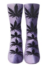 HUF Teidye Plantlife Sock Purple