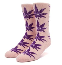 HUF Green Buddy Strains Sock Pink