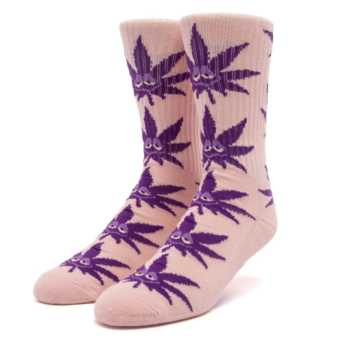 HUF Green Buddy Strains Sock Pink
