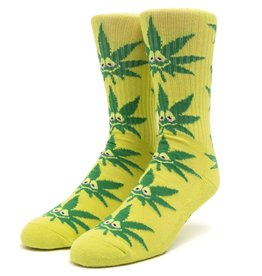 HUF Green Buddy Strains Sock Green