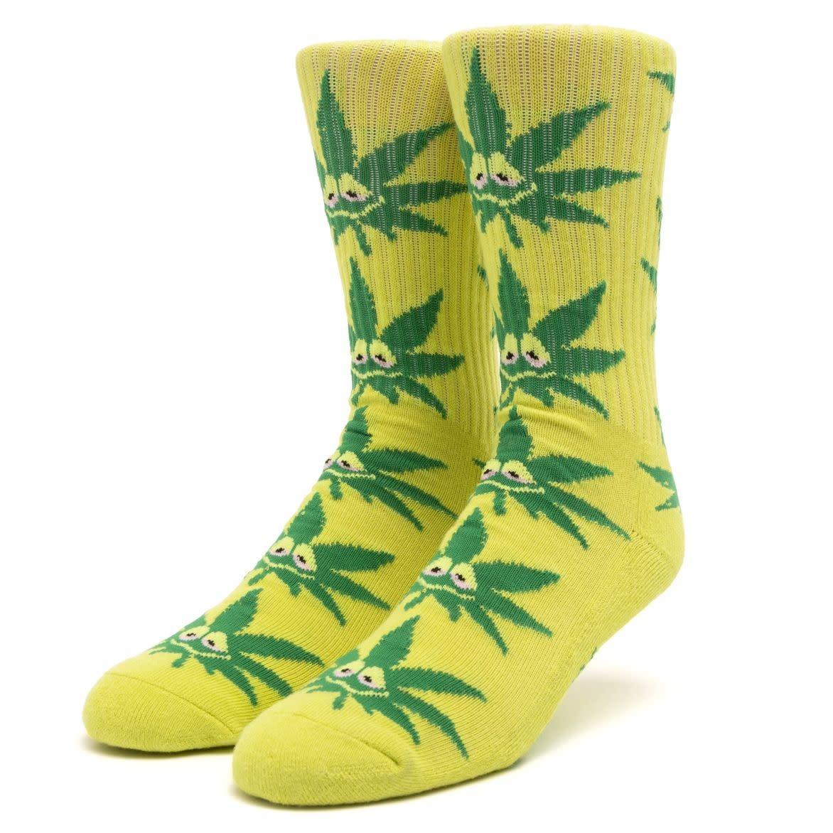 HUF Green Buddy Strains Sock Green